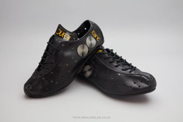 Duegi NOS Vintage Leather Cycling Shoes