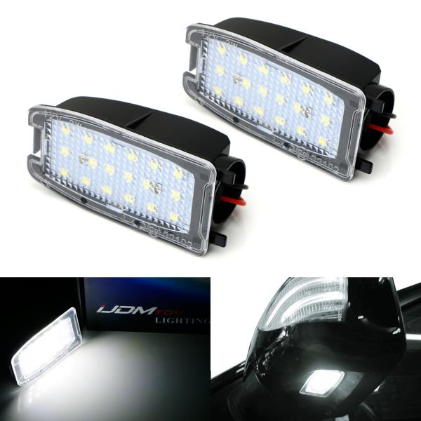 2 Pcs XENON White LED Side Light Beam 9 SMD Bulbs For Range Rover Sports