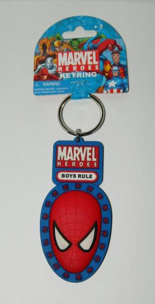 The Amazing Spider-Man Pewter Key Ring Key Chain BRAND NEW