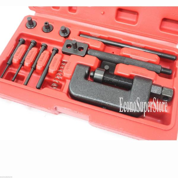 Bike Motorcycle Cam Drive Chain breaker Rivet Cutter Tool Kit motorcycle tool