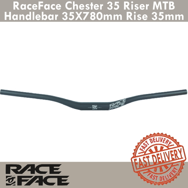 Various rise/'s and widths Race Face Chester Alloy Handlebars