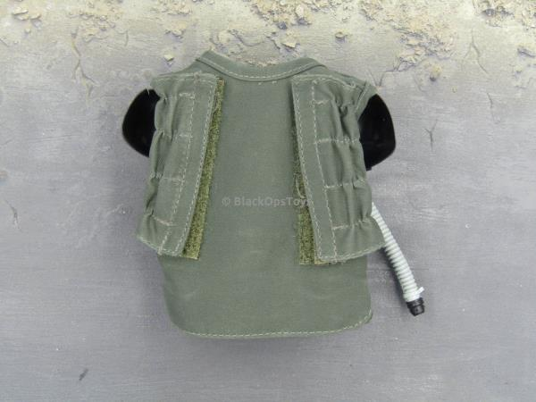 OD Green G-Suit Vest Only 1//6 Scale Toy F-18 Pilot
