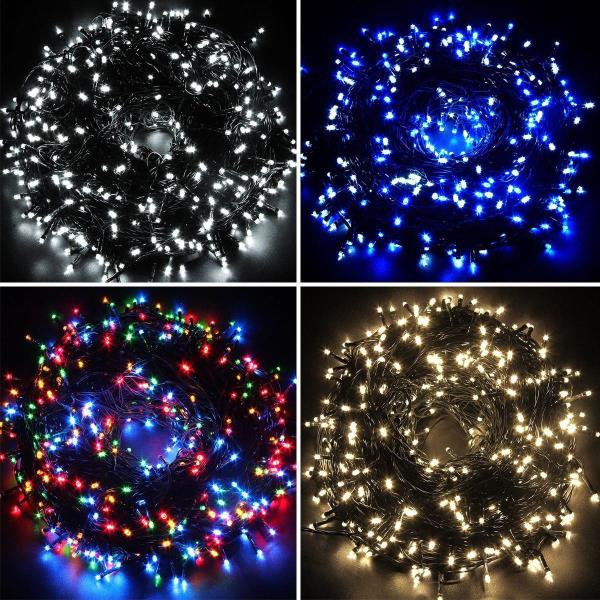 LED Solar Powered String Fairy Lights Indoor//Outdoor Xmas Party 100//200//300//400