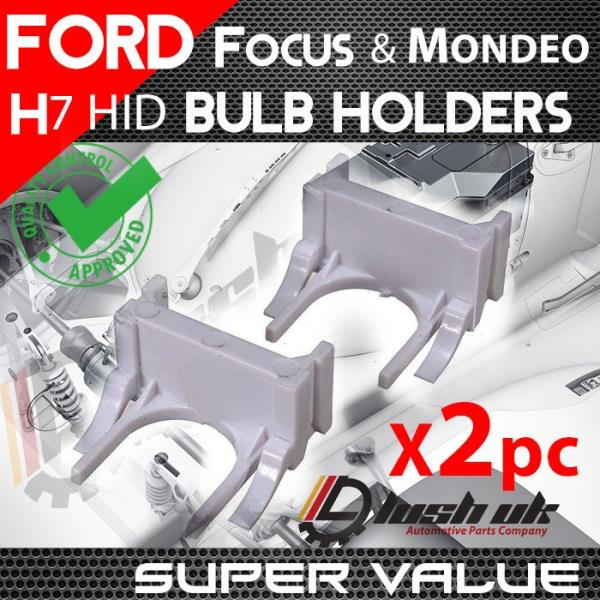 Ford Focus ST 09-12 Mondeo 09 /> On H7 HID Kit XENON BULB HOLDERS