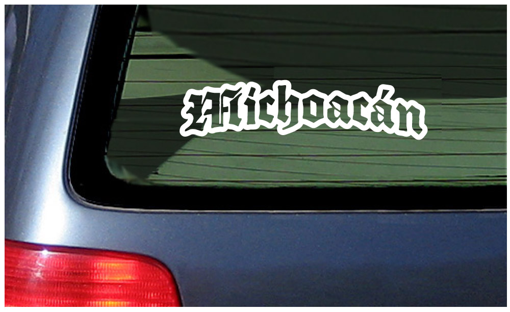 michoacan sticker vinyl decal car window mexico pride mexican state morelia ebay details about michoacan sticker vinyl decal car window mexico pride mexican state morelia