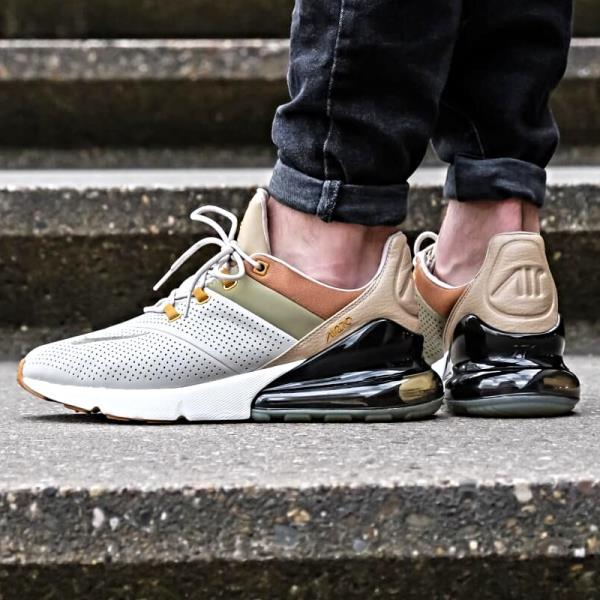 Details about Nike Air Max 270 Premium Sneakers String Size 8 9 10 11 12 Mens Shoes New