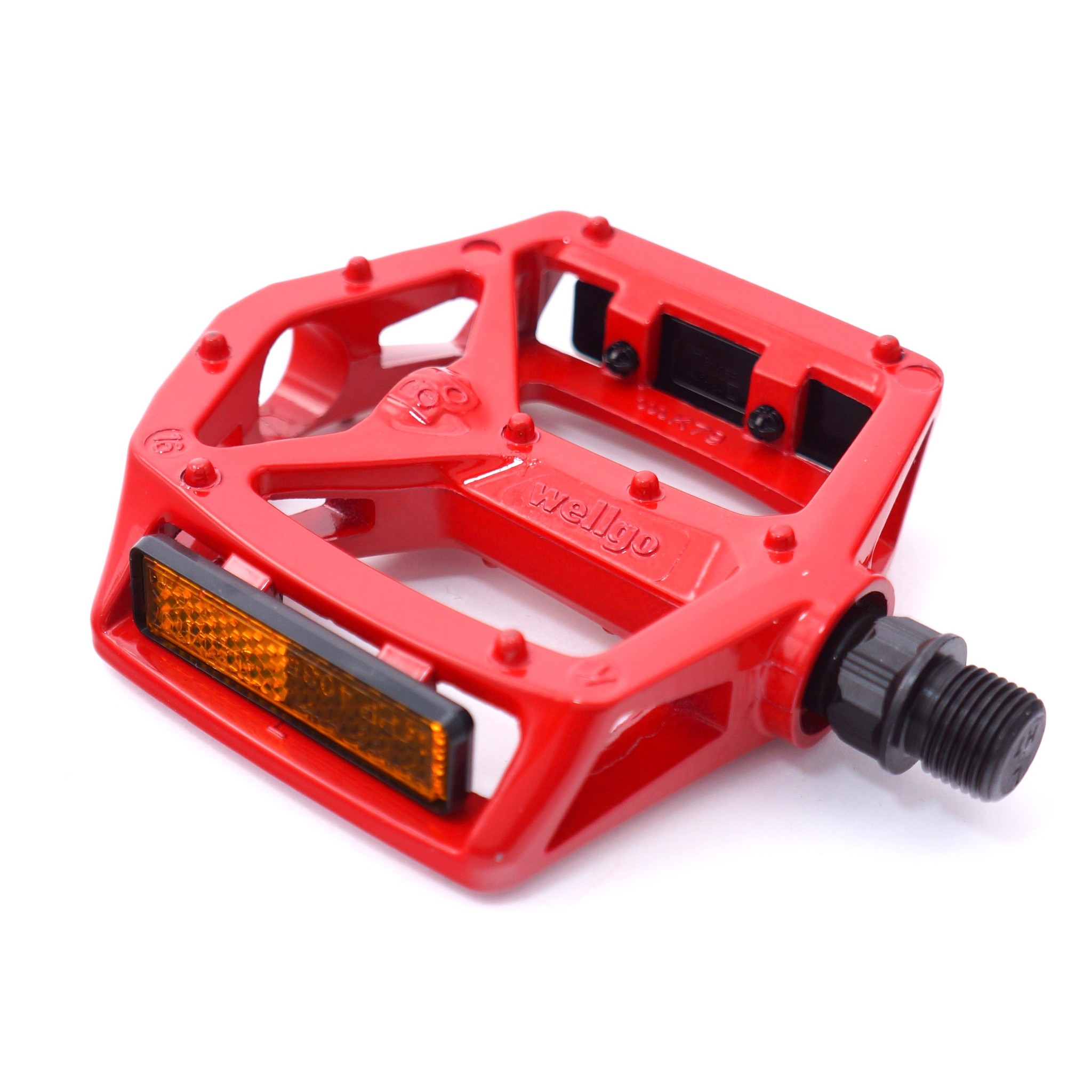 """NEW RED Bicycle Pedals 1//2/"""" Axle  MTB BMX  Bikes"""