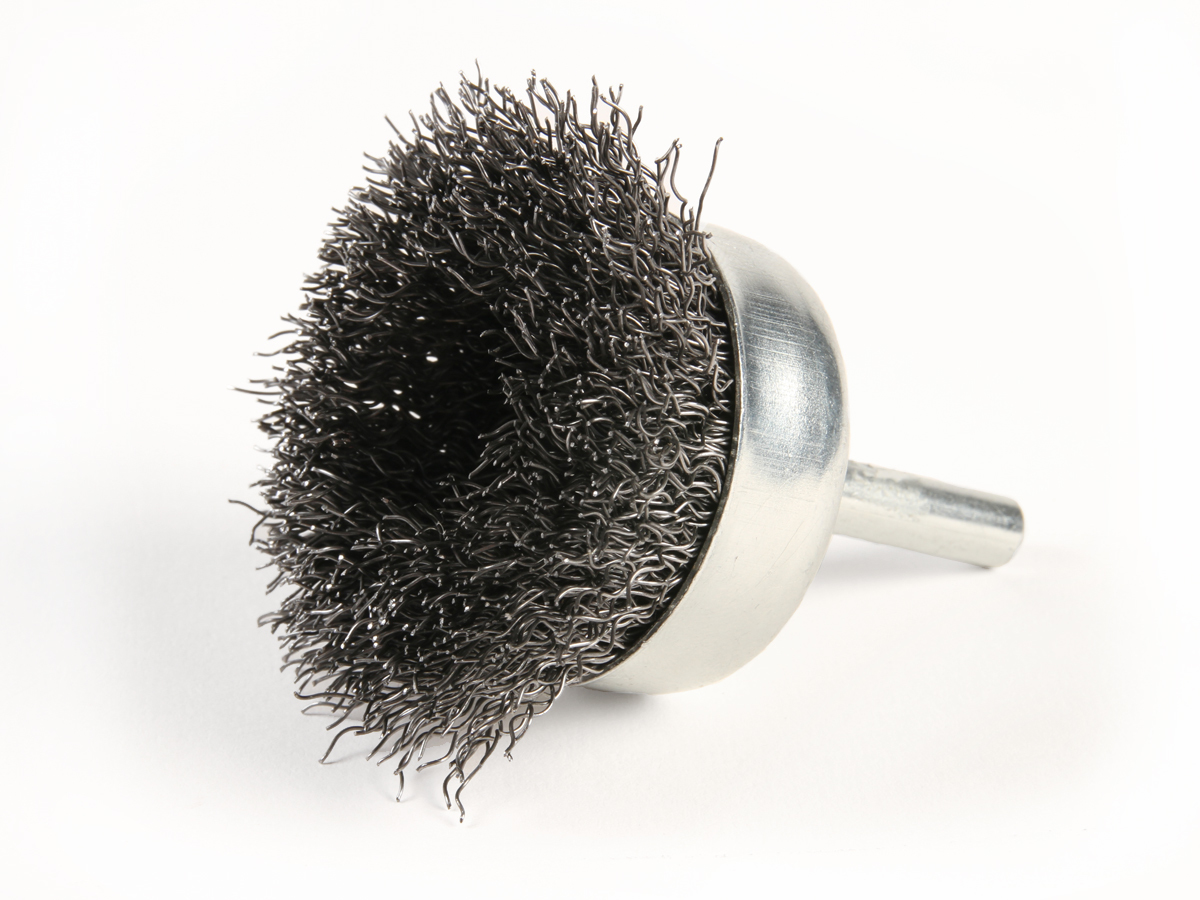 "3/'/' Metal Wire Wheel Cup Brush Crimped with 1//4/"" Shank Grinder For Die Ho D M3D5"
