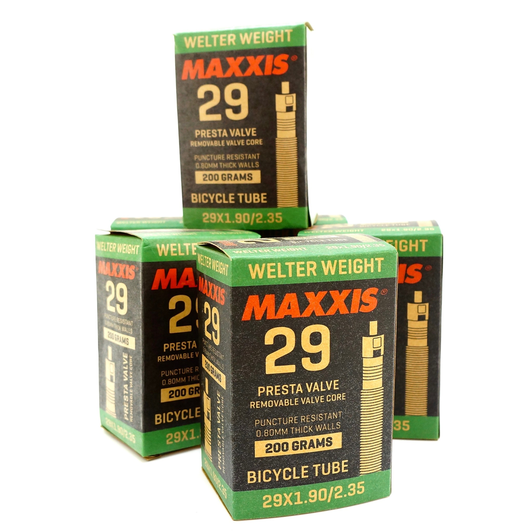 1 to 6 tubes Maxxis Welter Weight 27.5 x 1.90-2.35 Presta Inner Tube 0.8mm thick