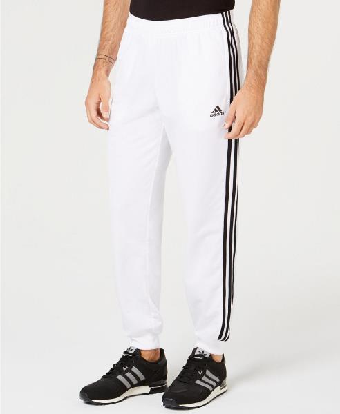DW9284 Mens Adidas Essential Tricot 3 Stripe Tapered Pants