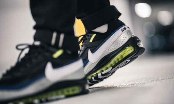 Details about Nike Air Max 97BW Black Metallic Silver Size 7 8 9 10 11 12 Mens AO2406 003 og