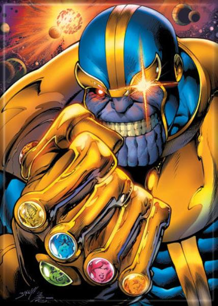 Image result for thanos with gauntlet