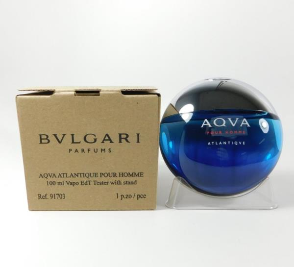 Aqva Atlantiqve Pour Homme By Bvlgari Edt 3 4oz 100ml New In Tst Box 783320916540 Ebay
