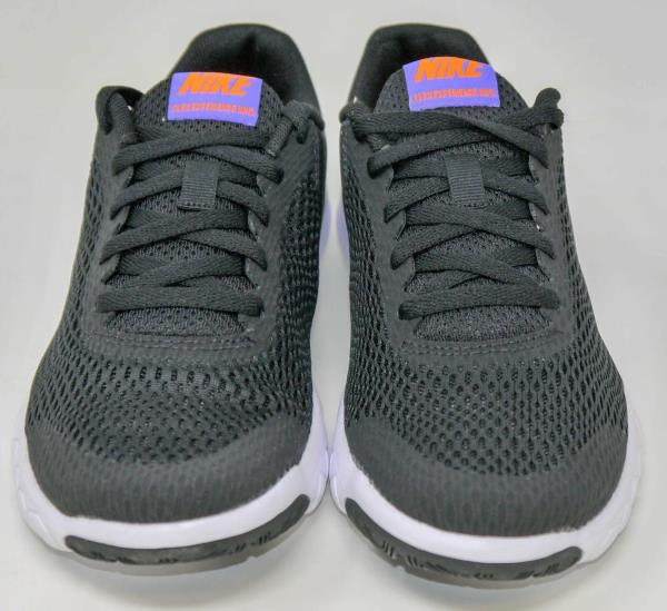 844995-010 Black Violet White Youth Running Shoes GS Nike Flex Experience 5