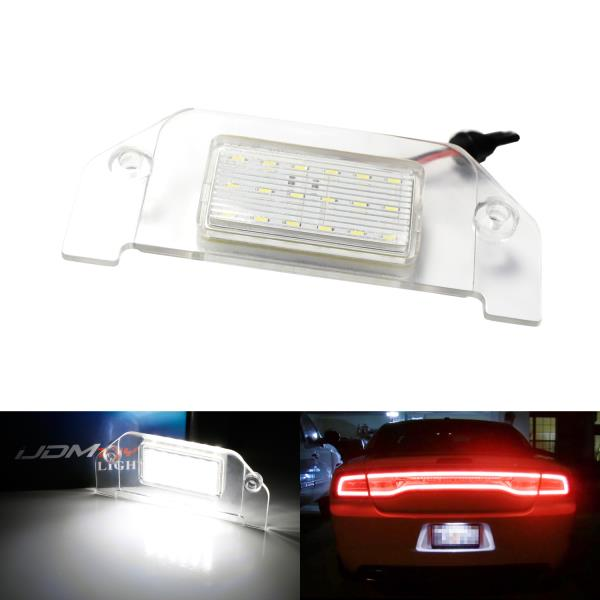 License Plate Lights Automotive Powered by 18-SMD Xenon White LED ...