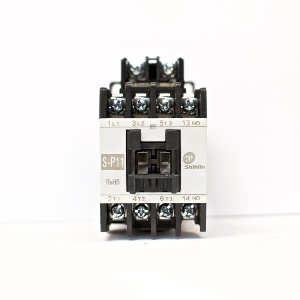 Normally Closed 220V Shihlin Magnetic Contactor S-P11 3A1b Coil