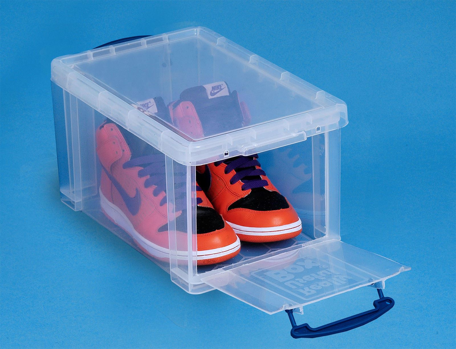 Really Useful 21XL Litre Clear Storage Box High Lid Xtra Large Lid
