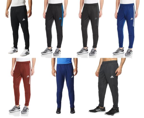Details about Mens Adidas Tiro17 Slim Soccer Training Pant Climacool All Colors & Sizes