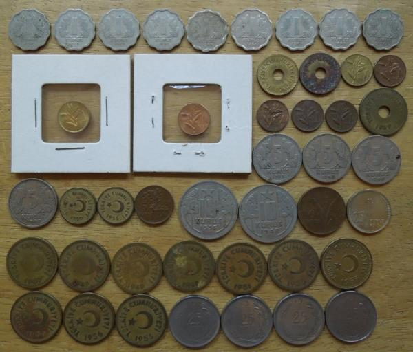 19 Coins from 19 Countries All UNC Africa Coin Mix