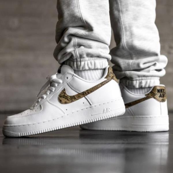Details about Nike Air Force 1 Low PRM QS Ivory Snake White Size 8 9 10 11 12 Mens Shoes Max