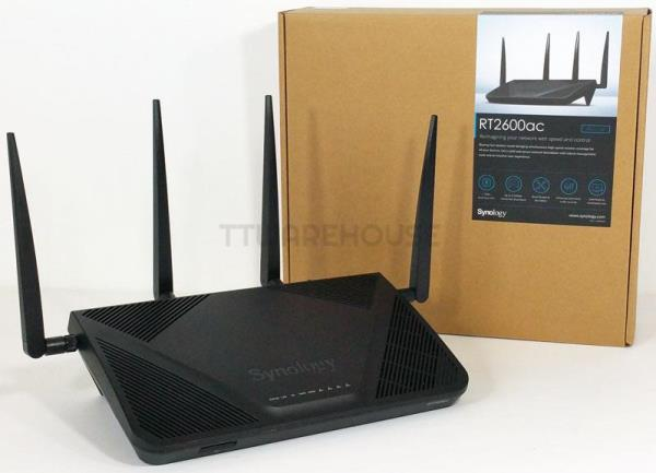 Synology RT2600ac Wi-Fi Router Gigabit Ethernet Networking Device