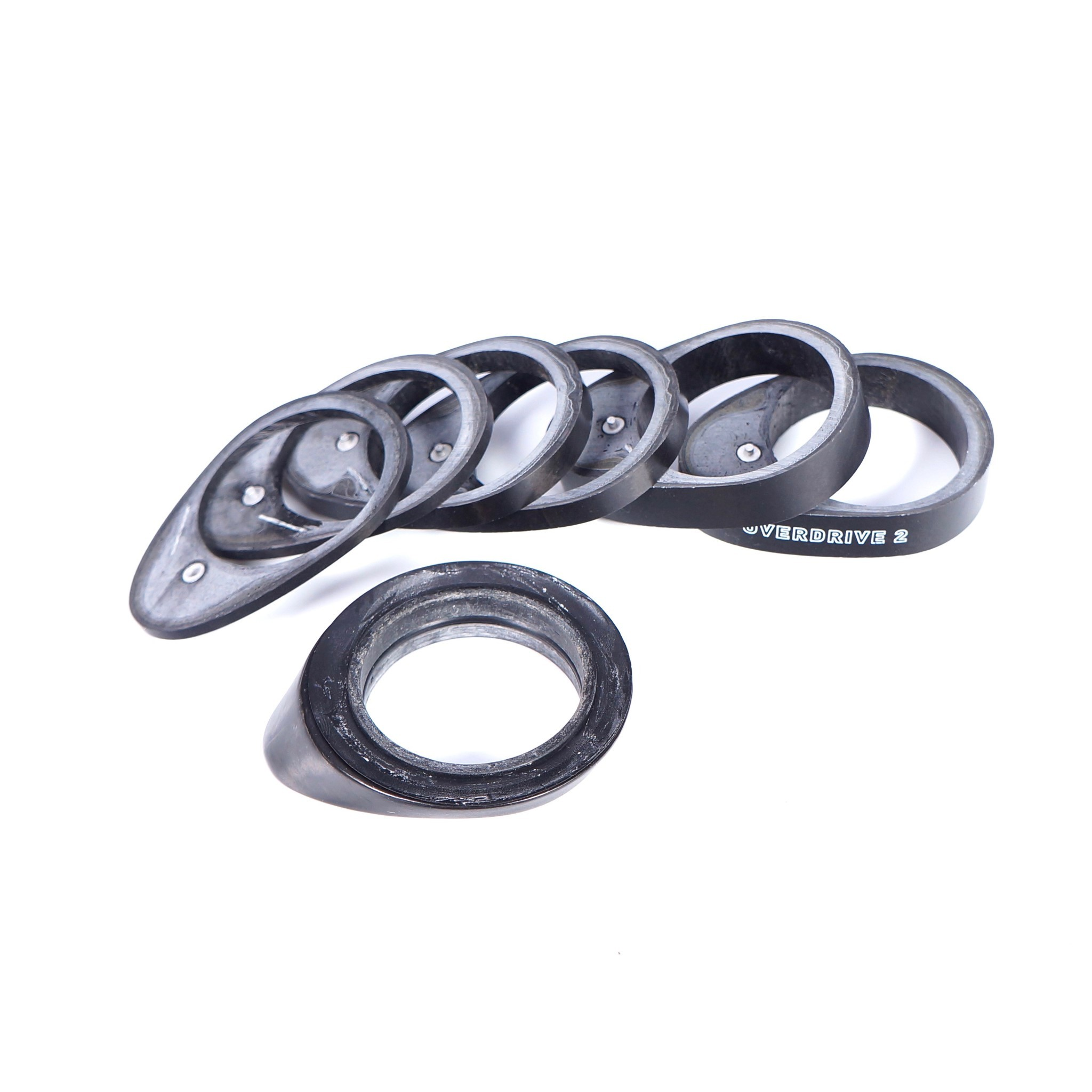 """Giant OD2 Aero Carbon Bike Spacer Kit 1-1//4/"""" For CONTACT SLR Integrated Drop"""