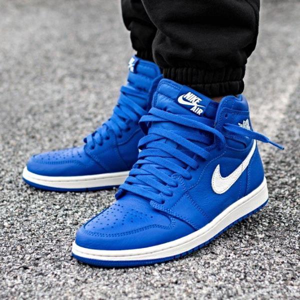 Details about Nike Air Jordan 1 Retro High OG Sneakers Hyper Royal Size 8 9  10 11 12 Mens Shoe