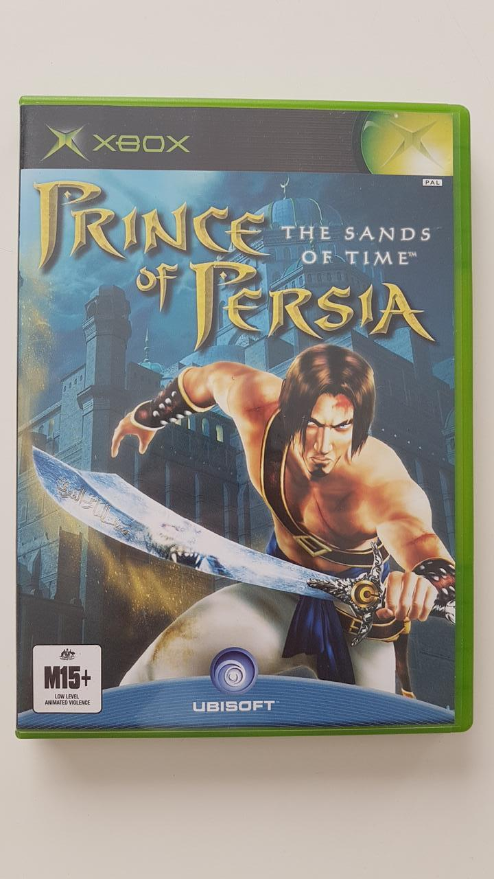 Prince Of Persia The Sands Of Time Xbox Vgc Pal Ebay