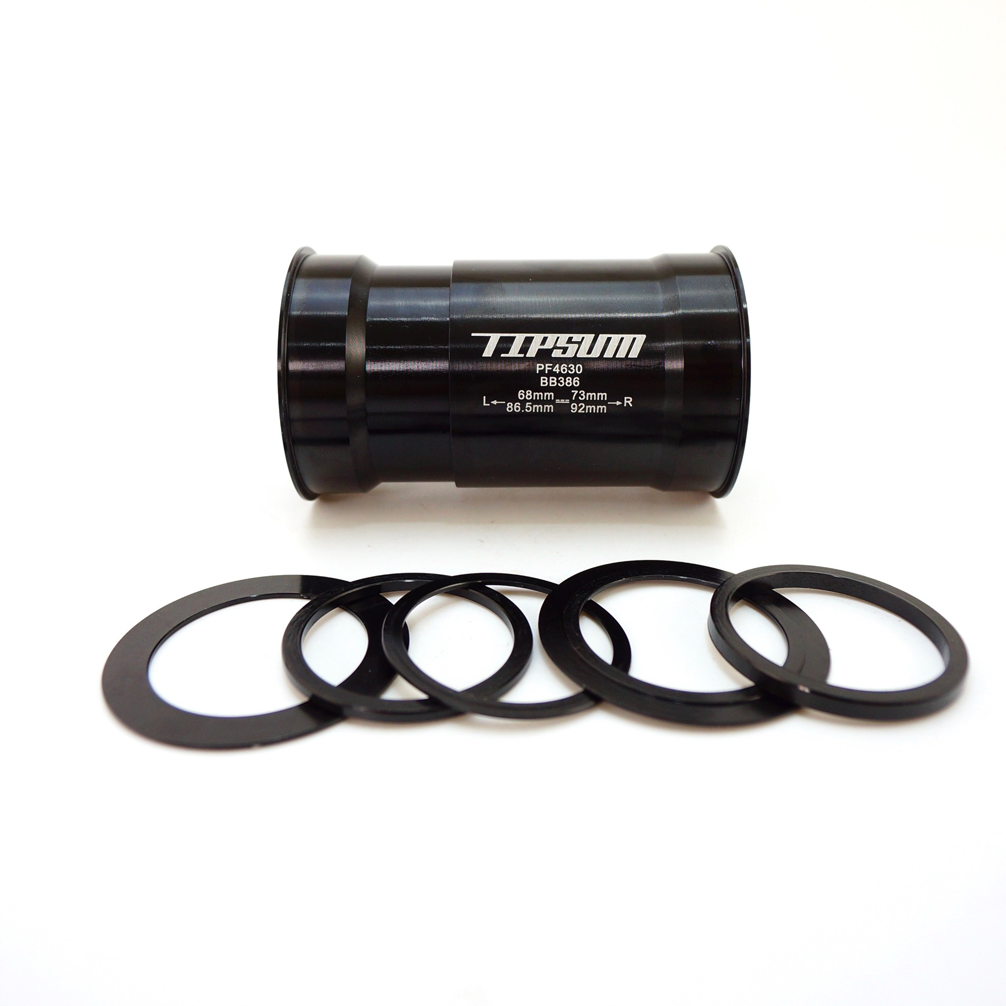 Tipsum Ceramic BB Bottom Bracket BSA//English Thread 68-73mm Raceface//Shimano//FSA
