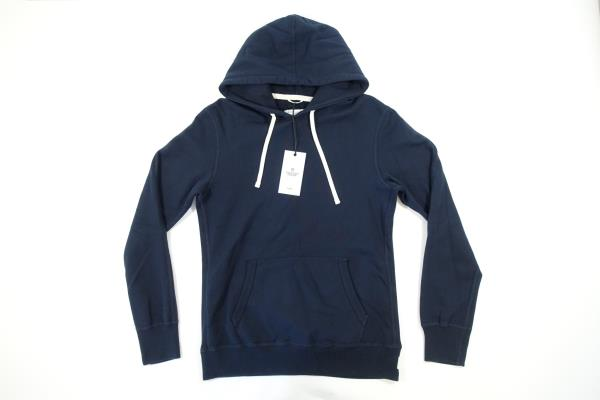 Details about REIGNING CHAMP RC 3206 DARK NAVY BLUE SMALL HOODIE POCKETED PULLOVER SWEATER NWT