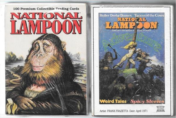 National Lampoon Trading Cards Factory Set 1993 MIB