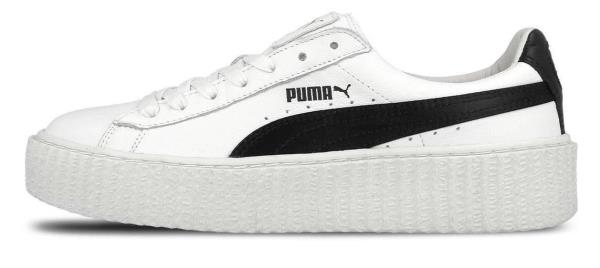 Details about [364462 01] Womens PUMA Fenty Creeper Sneaker White Black