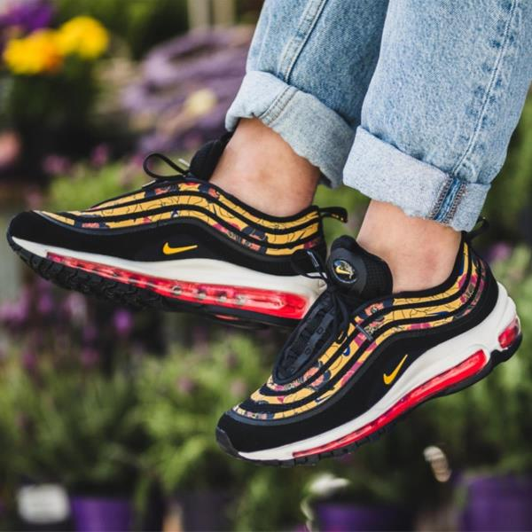 Nike WMNS Air Max 97 SE Floral University Gold BV0129