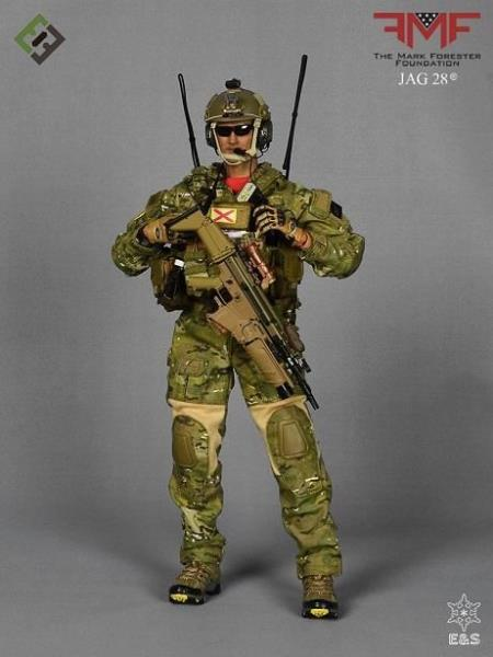 US CCT 1//6 scale toy Mark Forester Black Radio /& Headset