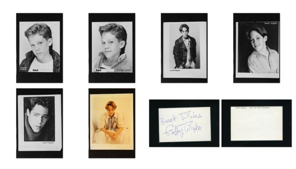 Geoffrey Wigdor Signed Autograph And Headshot Photo Set Sleepers Ebay