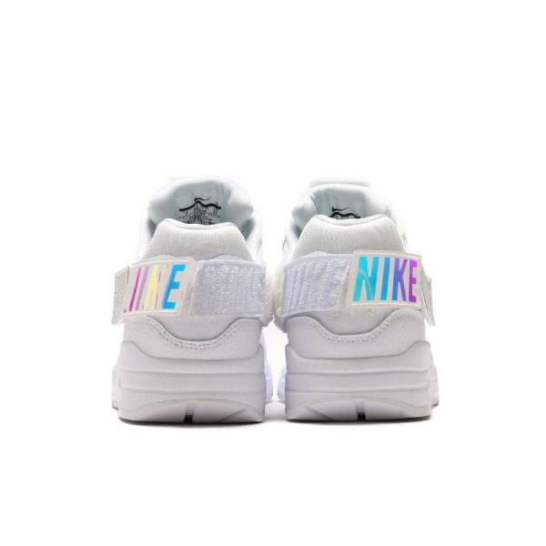 Details about Nike Air Max 1 100 Sneakers Triple White Size 6 7 8 9 10 Womens Shoes New