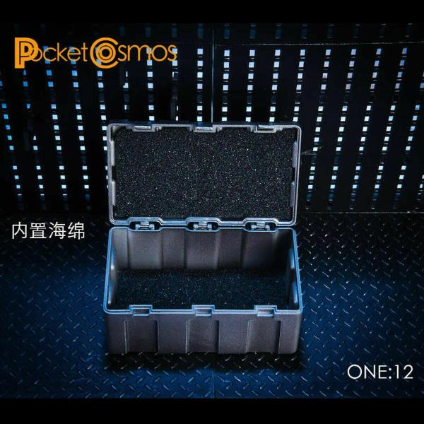 MINT IN BOX 1//12 scale Black Weapons Case Set