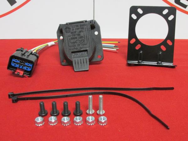 dodge ram chrysler jeep 7 way trailer tow wiring harness repair kit new oem  | ebay  ebay