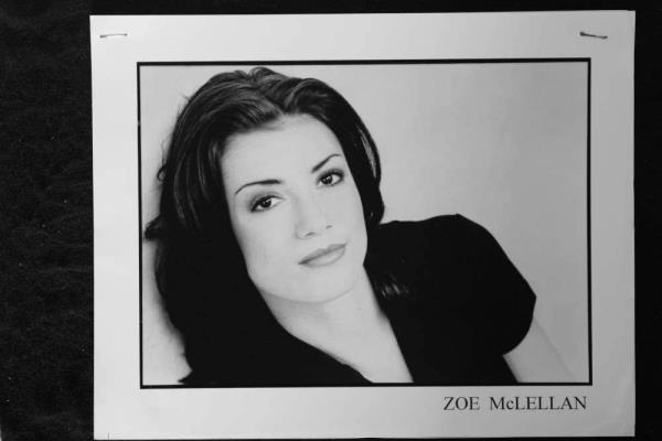 Details About Zoe Mclellan 8x10 Headshot Photo With Resume Stranger In My House