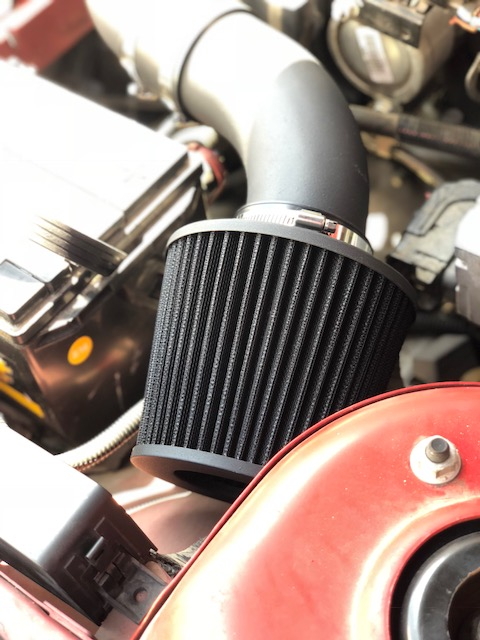 All BLACK COATED Air Intake Kit/& Filter For 2002-05 Chevy Cavalier 2.2 L4 Ecotec