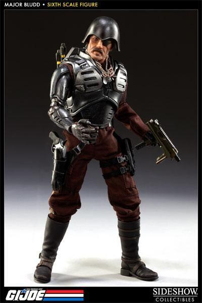 1//6 Scale Toy GI JOE-cobra MAJOR BLUDD-Head Sculpt avec Eyepatch