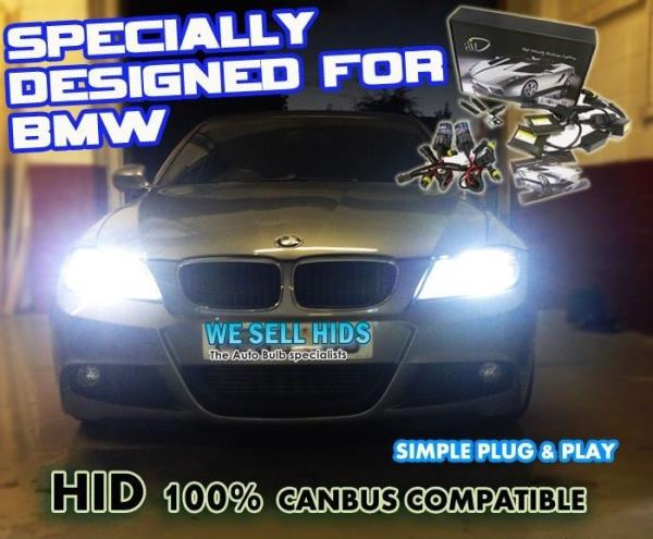H7 8000K XENON CANBUS HID KIT TO FIT BMW MODELS PLUG N PLAY