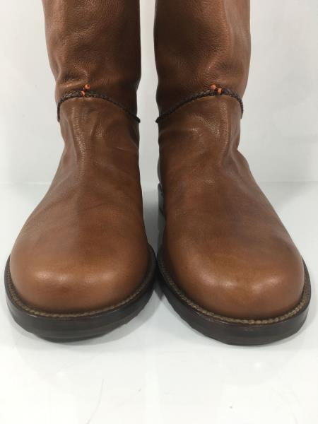 "Multiple Sizes Henry Cuir Messico Leather Medium Brown /""Misty/"" Western Boots"