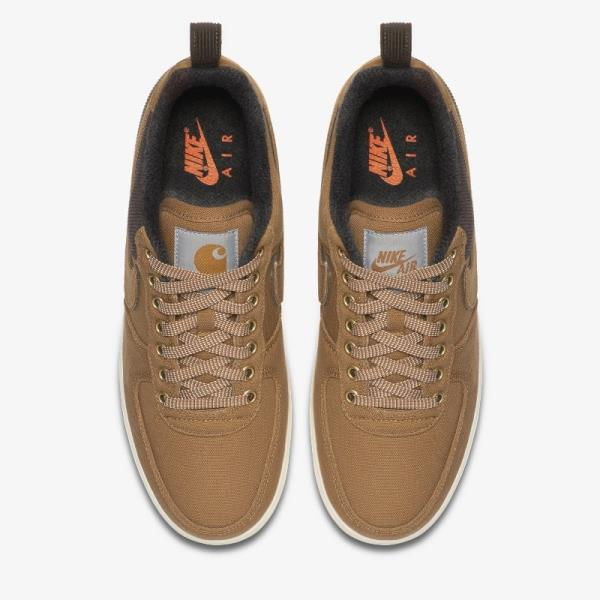 Details about Nike Air Force 1 Low X Carhartt WIP Brown Size 7 8 9 10 11 12 Men AV4113 200