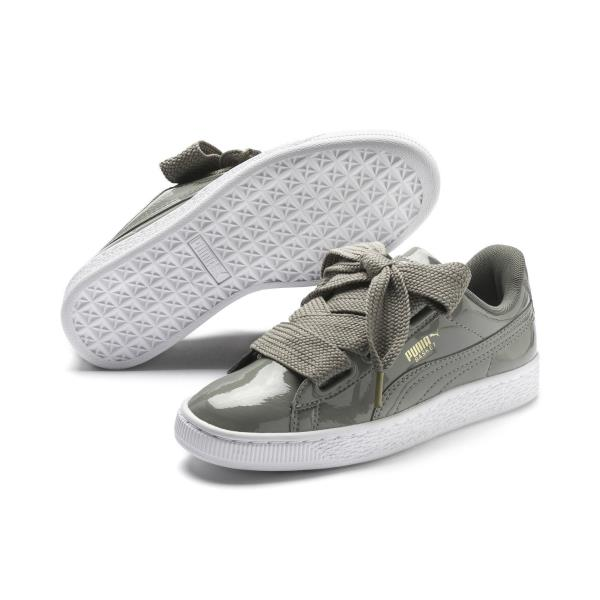 Details about [363073-12] Womens Puma Basket Heart Patent