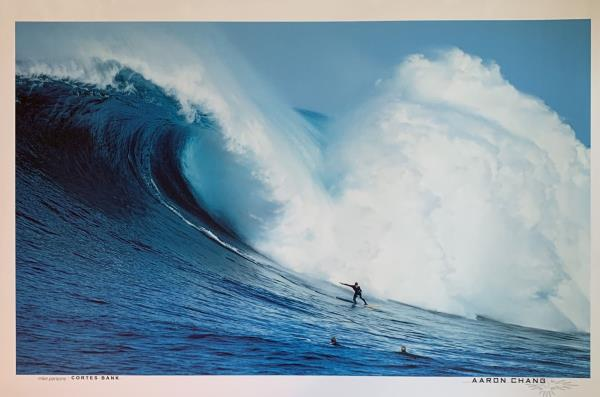 Aaron Chang Poster Mystic Right Indonesia Surf Poster 24 x 36