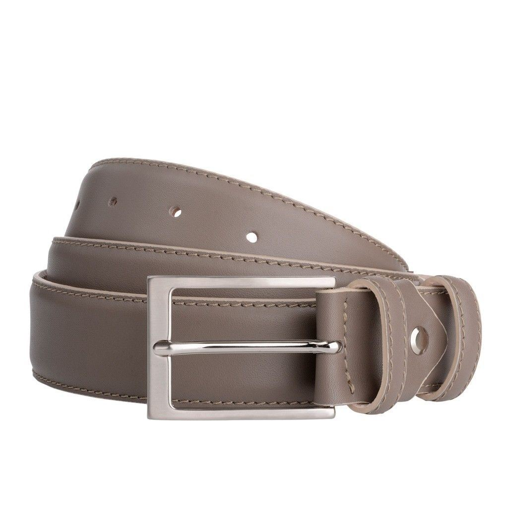 Handmade Men Business Brown Full gran Italian Leather Belt New Design