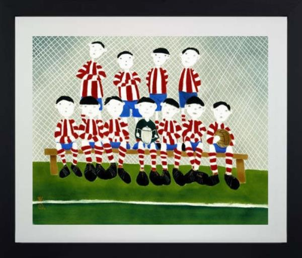 The A Team by Mackenzie Thorpe New with COA Signed /& Numbered