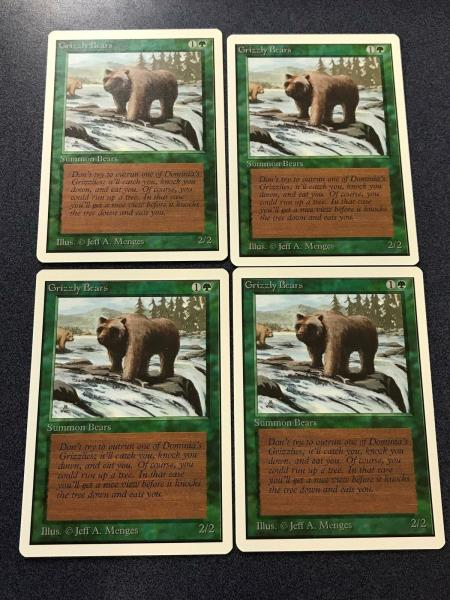 Grizzly Bears //// Beta //// MTG Magic //// See Picture