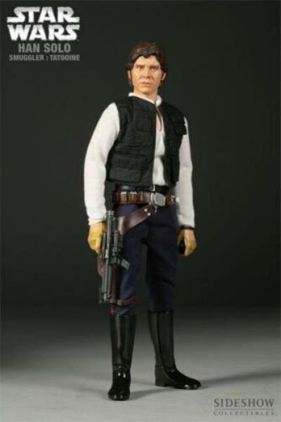1//6 Scale Han Solo Bespin Droid Caller Sideshow Action Figures